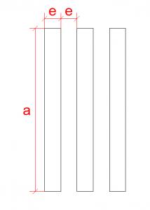 Dimensões Barramento